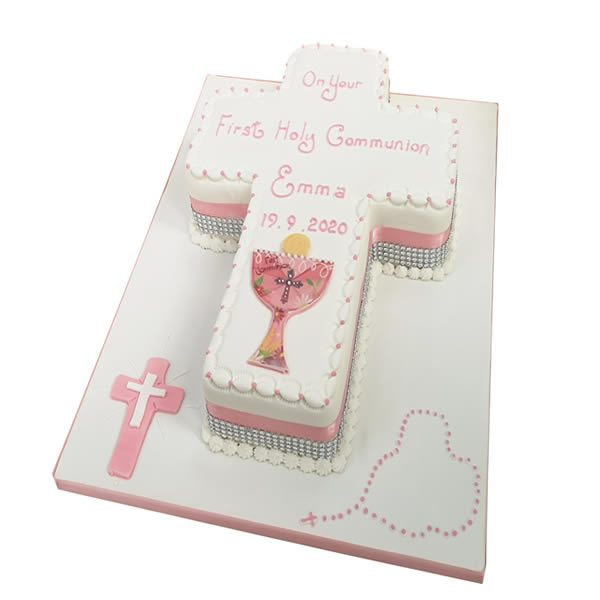 Communion Cross Cake