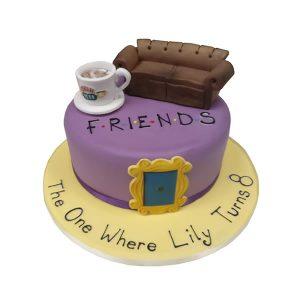 Friends Birthday Cake